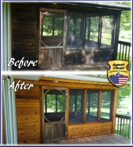 Deck restoration service from Agent Clean