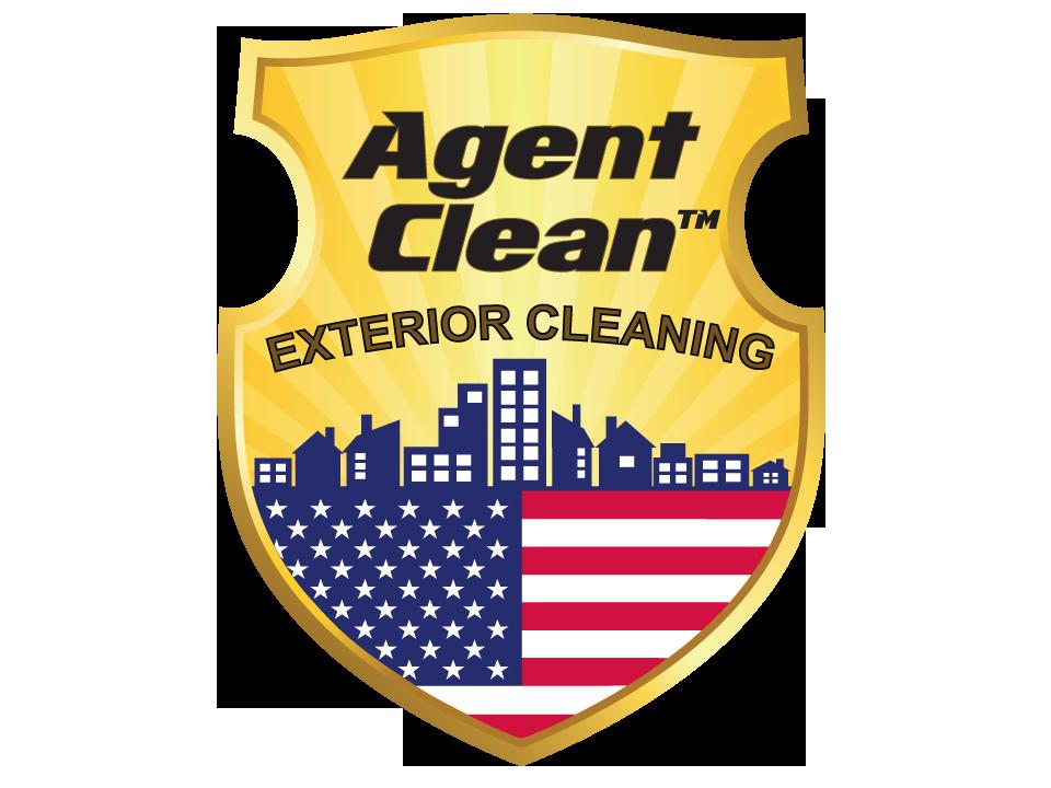 Agent Clean Pressure Washing Service Logo