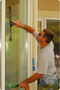 Agent Clean offers quality window cleaning service.