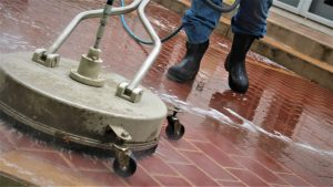 Brick cleaning and pressure washing service