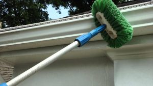 Gutter restoration to clean exterior of gutters