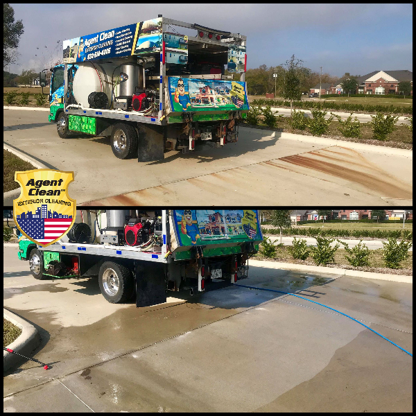 Rust removal restoration service before and after